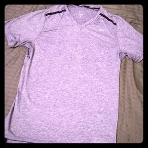 Nike Running Shirt Purple Size L